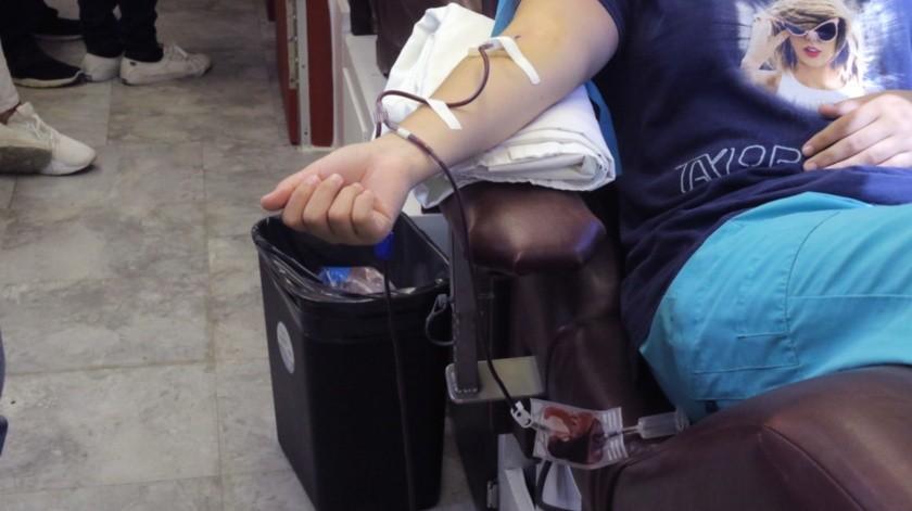 El proceso para pasar las pruebas y poder donar sangre es muy minucioso, por seguridad del donante y el paciente.(Anahí Velásquez)