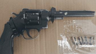 Lo detienen con arma de fuego en SLRC