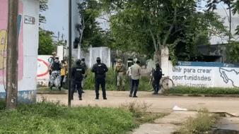 El hallazgo del niño fallecido se dio luego de que vecino denunciaran disparos en lacalle Juan Sarabia del Barrio La Palma.