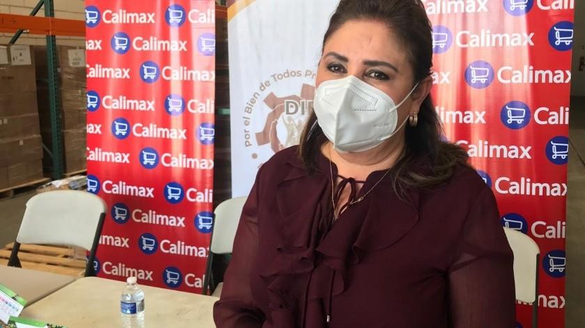 Blanca Favela Dávalos, del DIF de Baja California.
