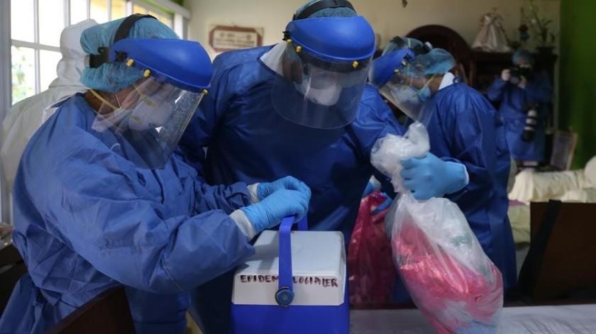 Covid-19 en México: Brigadas médicas rastrean puerta a puerta el virus(EFE)