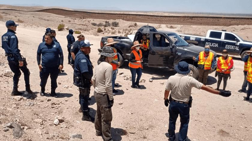 Madres buscan a sus hijos en el desierto de Mexicali(Cortesía)
