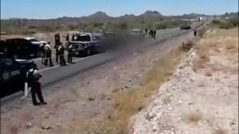 Caborca: Fiscalía reporta decena de cuerpos en caja refrigerada fuera de funeraría