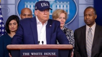 Suman 8 miembros del equipo de campaña de Trump con Covid-19