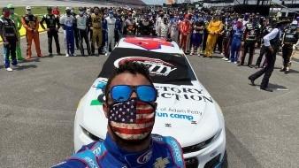 Enorme apoyo recibió Bubba Wallace por pilotos de NASCAR después de acto racista en su contra