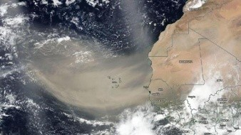 Nube de polvo del Sahara: Sigue su avance y conoce las recomendaciones