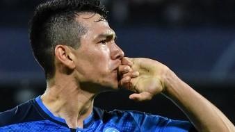¿Mensaje a Gattuso? 'Chucky' Lozano anota en partido del Napoli