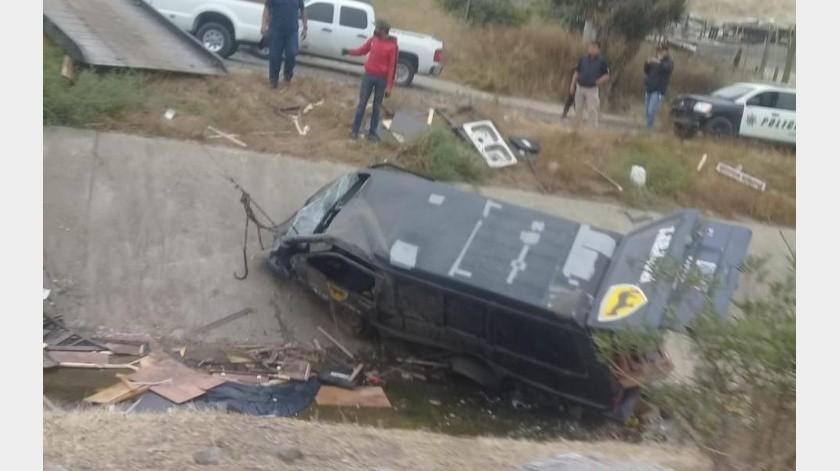 Pierde la vida tras descarrilar sobre el bulevar Manuel J. Clouthier(Margarito Martínez)