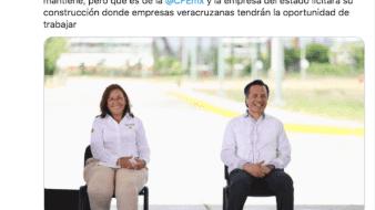 El Gobierno de México continuará con el proyecto de construcción de una central energética en el estado de Veracruz.