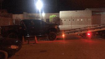 Roban camioneta con niño y una mujer adulta en SLRC
