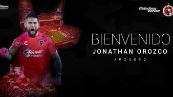 Xolos anuncia la llegada de Jonathan Orozco
