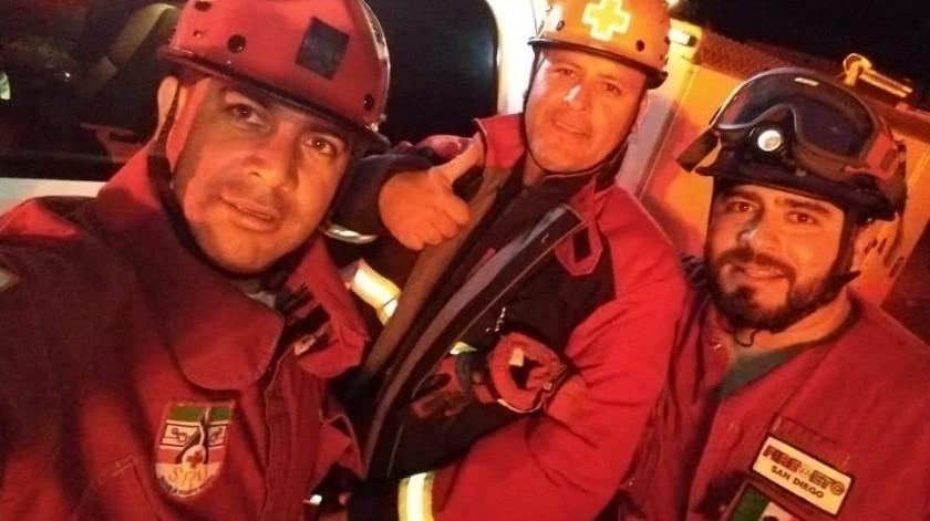 Realizan recorrido nocturno por el Día del Paramédico en Tijuana(Cortesía)