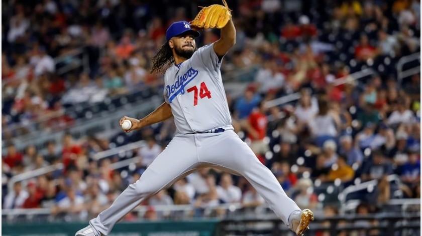 El cerrador Kenley Jansen, de Dodgers, advirtió que no lanzará contra los Astros(EFE)