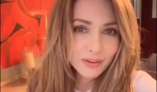 La actriz expresa en Twitter que sólo los que no tienen fe en Dios deben tener a los virus, porque todo es una