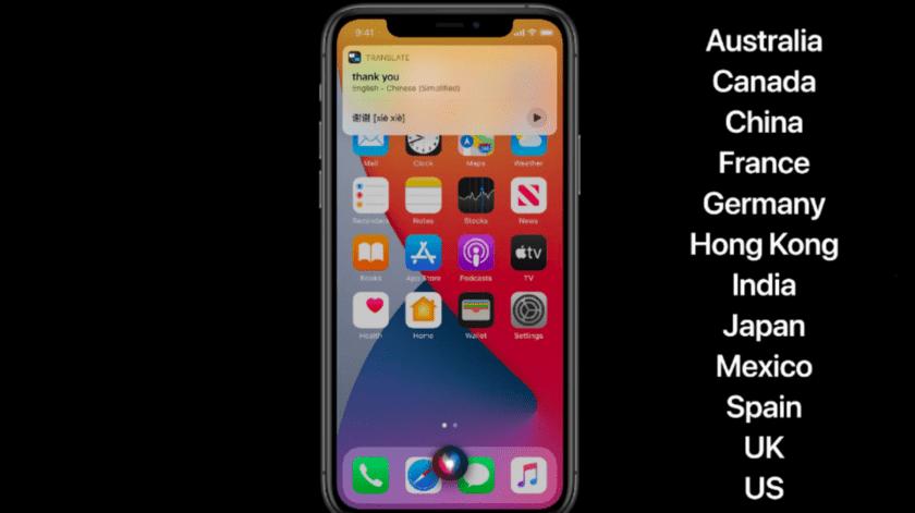 Siri llega como traductor offline a México para conversaciones y texto