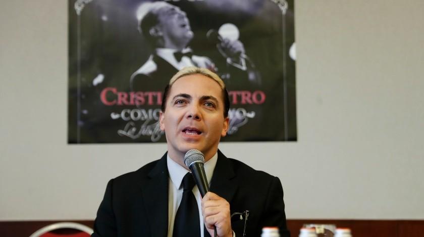 """Cristian Castro se confiesa ante la prensa: """"me gusta perder el control""""(EFE, EFE/EFE)"""