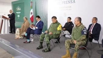 Fuerzas armadas en Seguridad Pública son necesarias para garantizar la paz: AMLO