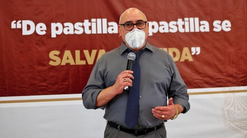 Están contagiados 53 trabajadores del Issstecali con Covid(Daniel Reséndiz)