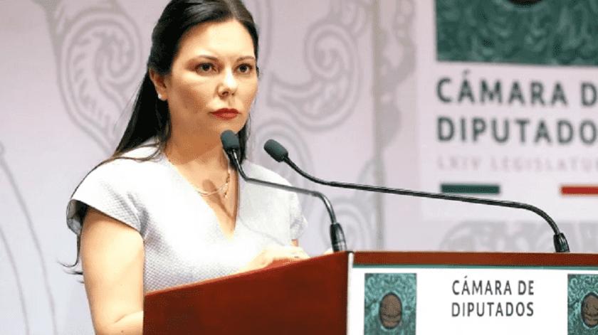 Corte admite controversia de Laura Rojas por militarización de la seguridad(El Universal)