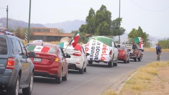 Circula tercera caravana anti AMLO por calles de Hermosillo