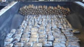 Decomisan 118 kilos de narcóticos en la frontera México-EU