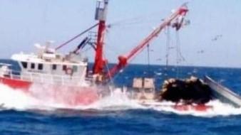 Barco sardinero se va a pique, los 10 tripulantes se encuentran a salvo