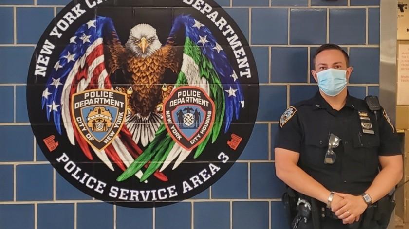 272 policías de Nueva York solicitan jubilarse tras la muerte de George Floyd(Twitter @NYPDnews)