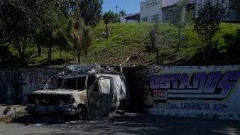 Indígenas queman casas en protesta por desinfección en Chiapas