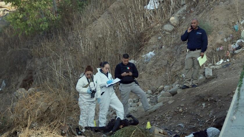 Un calcinado y un baleado deja jornada violenta en Tijuana(Sergio Ortiz)