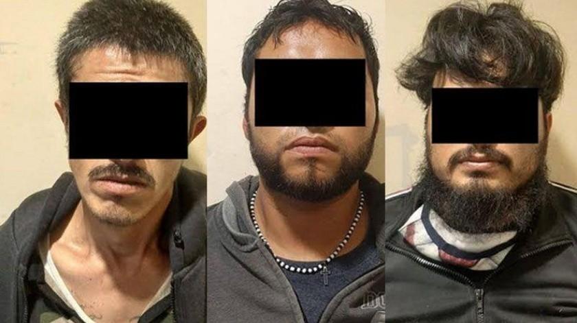 Tras una persecución arrestan a tres hombres(Redacción)