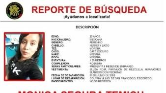 Fiscalía de NL confirma que restos son de joven embarazada desaparecida