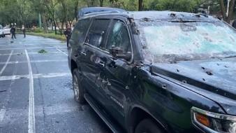 12 implicados en ataque contra Omar García Harfuch son trasladados a Reclusorio Sur