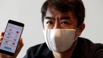 Crean mascarilla que se sincroniza con tu smartphone