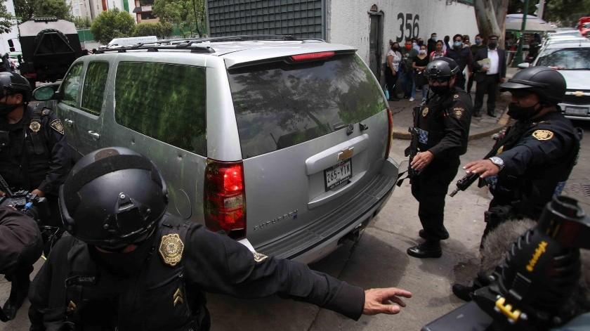 García Harfuch: CJNG se apoyó de tres grupos en atentado(GH)