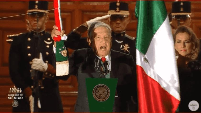 AMLO rechaza que Grito de Independencia se suspenda por Covid-19(Captura de video)