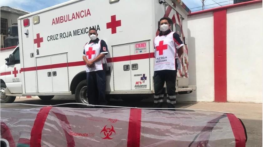 Cruz Roja no puede realizar traslados covid si no hay disponibilidad en los hospitales, por eso no se han realizado servicio(Archivo GH)