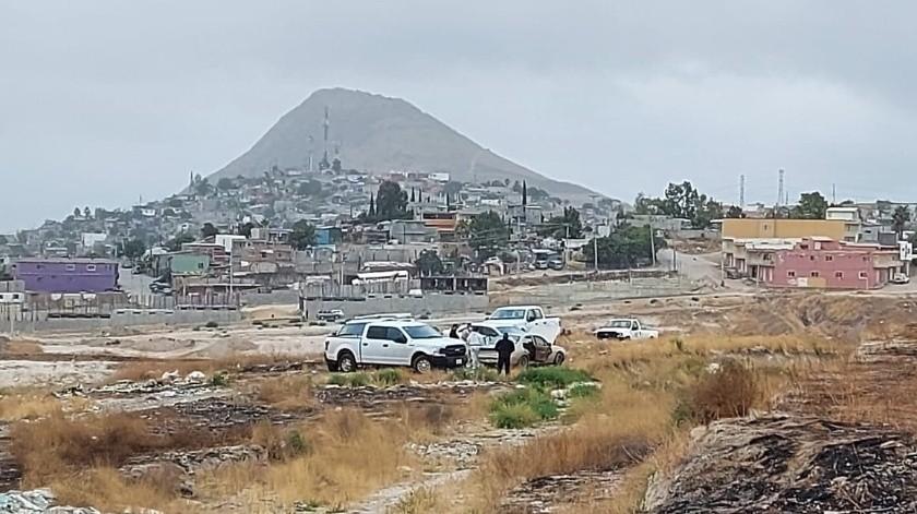 Abandonan dos 'encajuelados' en Terrazas del Valle(Margarito Martínez)