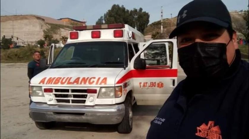 Solicitan apoyo para reparar ambulancia Covid19