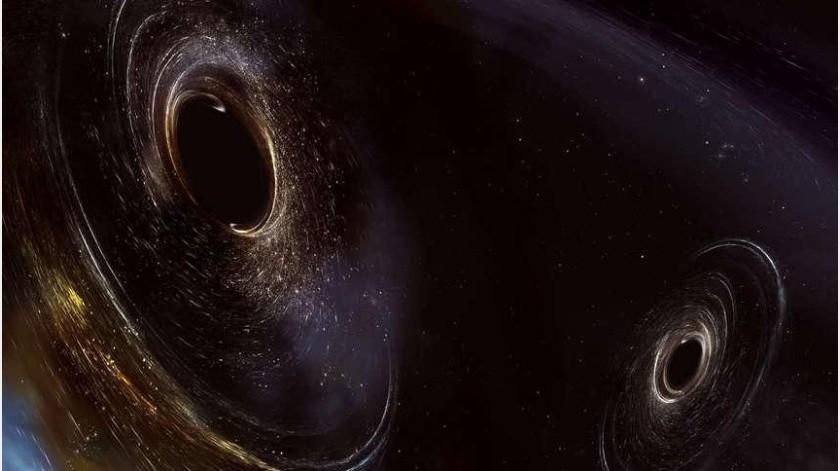 Un misterioso objeto se está fusionando con un agujero negro