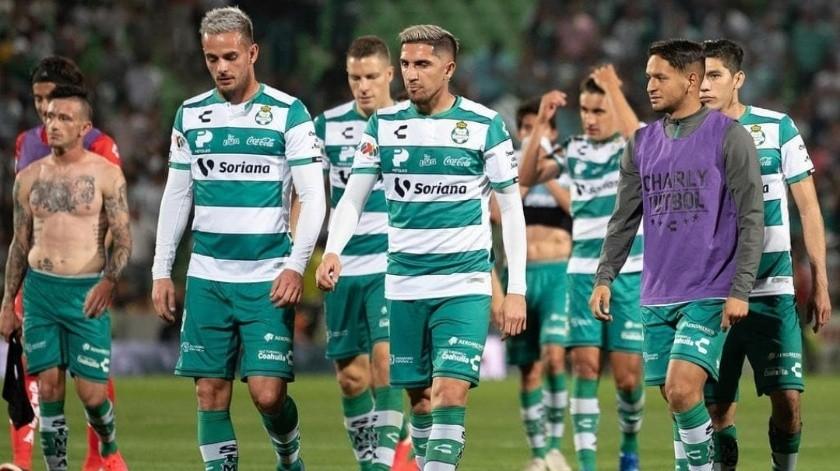 Santos, el equipo del futbol mexicano con más casos positivos de Covid-19.