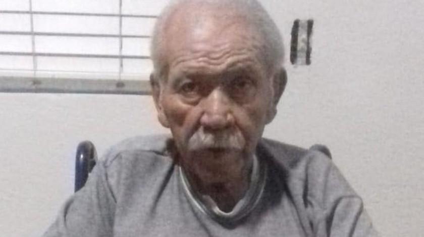 Abuelito abandonado en DIF Municipal ya es atendido en el asilo de ancianos(Cortesía)
