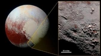 Sospechan que podría haber agua líquida en Plutón