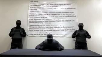 VIDEO: Encapuchados lanzan nuevas amenazas contra Omar García Harfuch