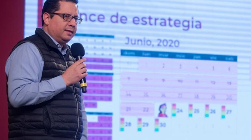 Conferencia Salud sobre coronavirus en México(EFE)