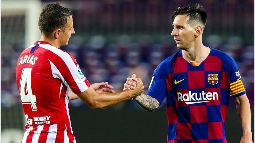 """¡Gol 700 Llega a Messi! La """"Pulga"""" anotó en el empate vs. Atlético de Madrid(Instagram @fcbarcelona)"""