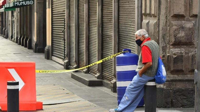 Covid-19 en México: 648 decesos y 5 mil 432 nuevos casos confirmados este día(EFE)