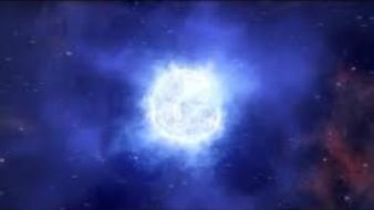 Desaparece del espacio estrella masiva
