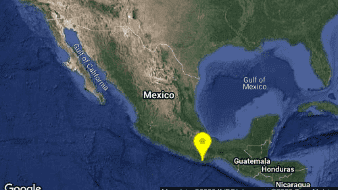 Un sismo magnitud 4.8 ocurrió esta tardea 28 kilómetros al este de Puerto Escondido, Oaxaca.