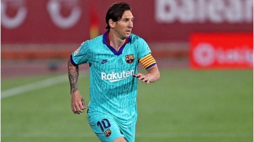 ¡De otro planeta! Solicitan a la NASA colocar playera de Lionel Messi en su museo(Instagram @leomessi)