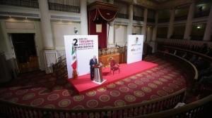 AMLO refrenda compromiso: El 1 de diciembre quedará establecida